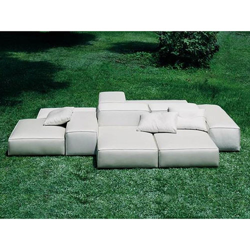 outdoor sofa extrasoft modular sofa (outdoor) ZQCMWSM