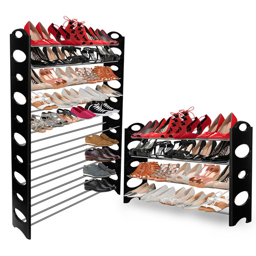 oxgord 10-tier shoe rack HBOEXOU