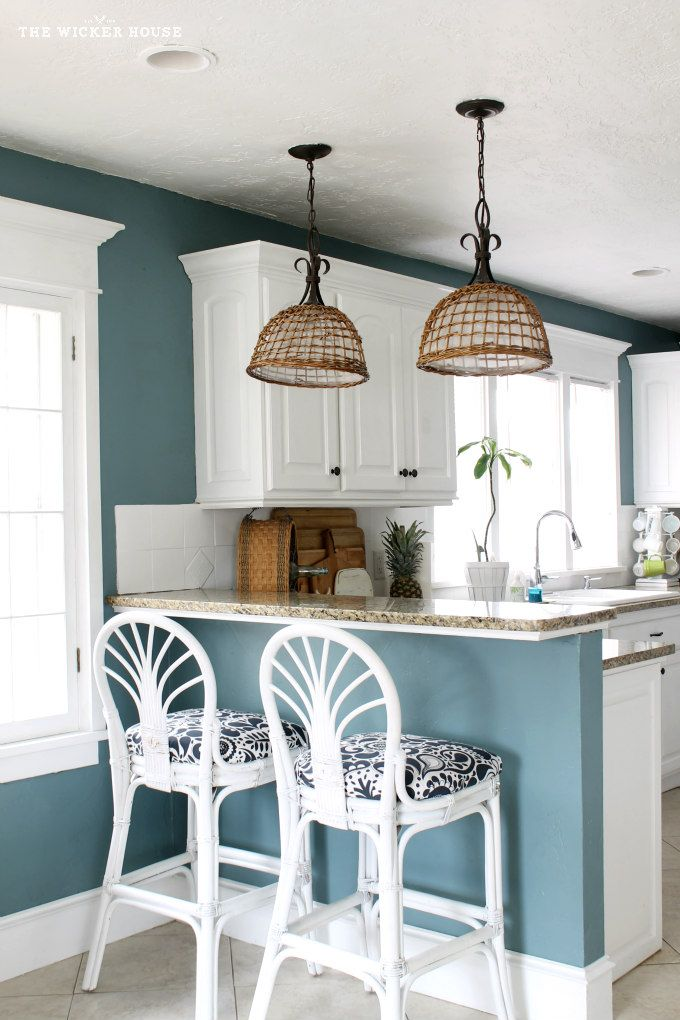 paint colors for kitchens 9 calming paint colors FYADWEE