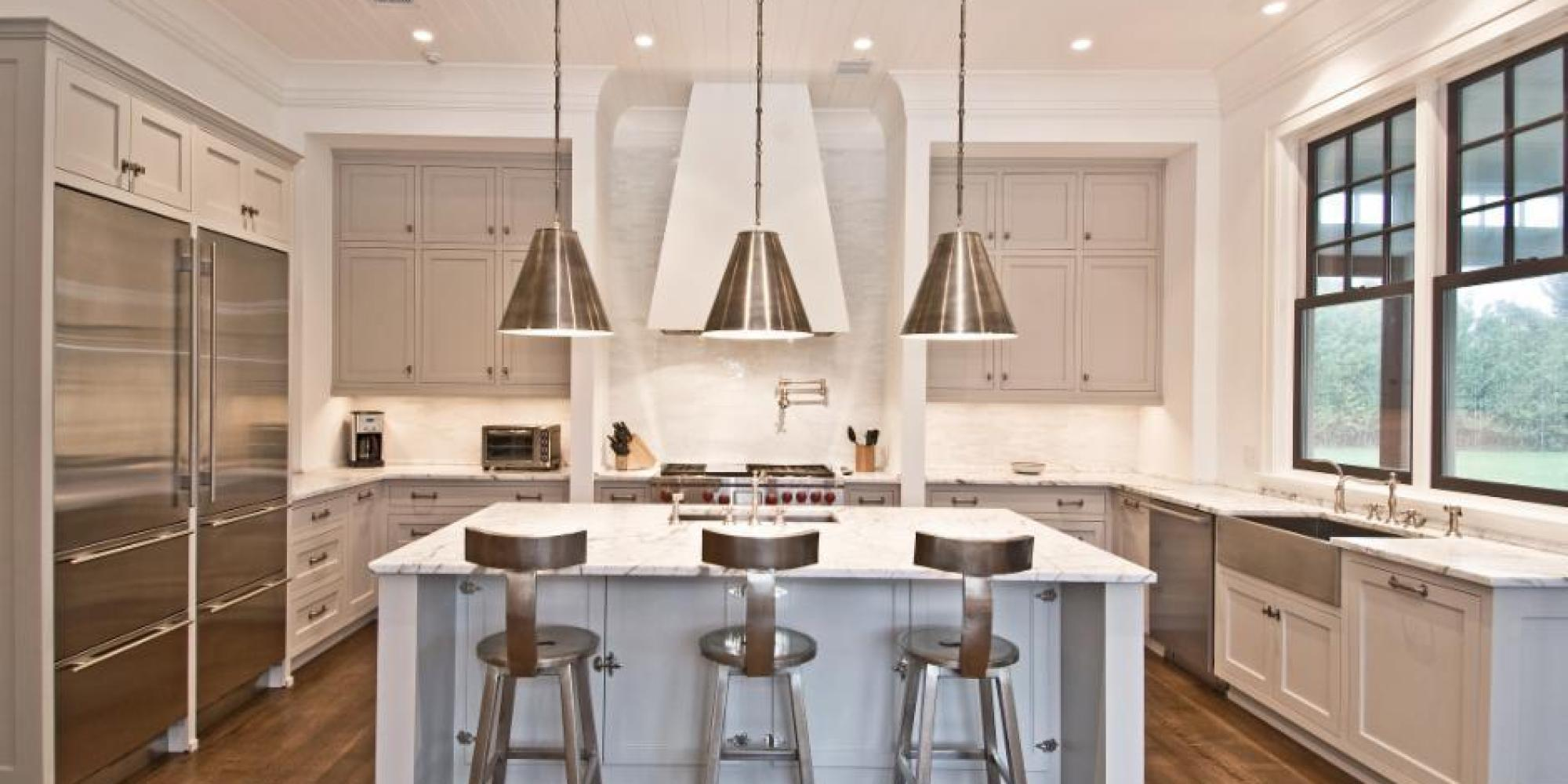 paint colors for kitchens the best paint colors for every type of kitchen | huffpost LXUTIES