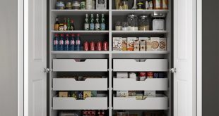 pantry organizers modifi 60 in. w x 15 in. d x 84 in. h dual JADBLHS