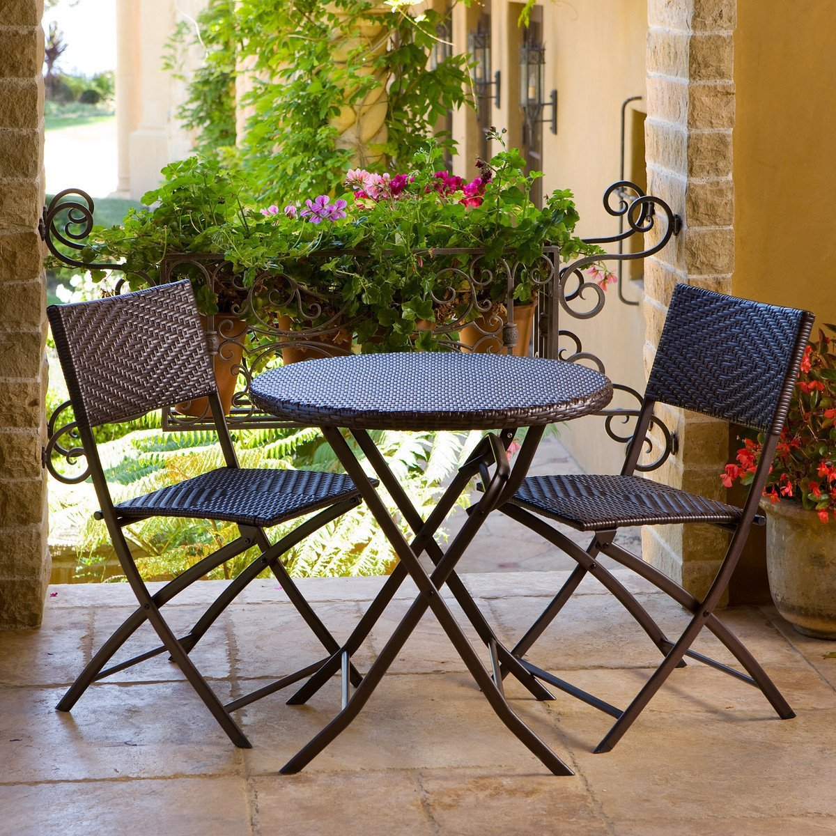 patio bistro set outdoor bistro set picture HRGKUTZ