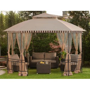 patio gazebo gazebos BBPVVBR