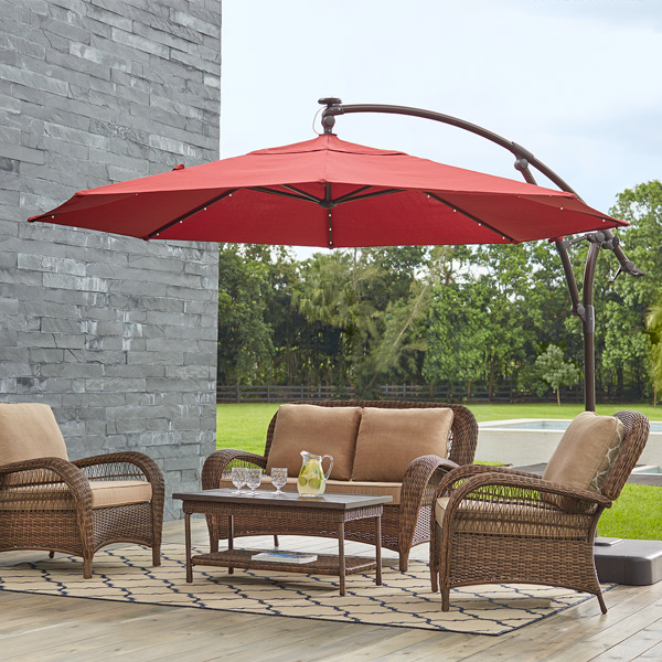 Shielding Sunlight And Rain With Patio Umbrellas