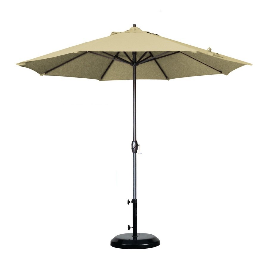 patio umbrellas california umbrella market patio umbrella (common: 9-ft w x 9-ft PLODIKN