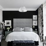 Black And White Theme for Bedrooms