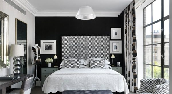 perfect black and white bedroom 30 groovy black and white bedroom ideas WOUEMYV
