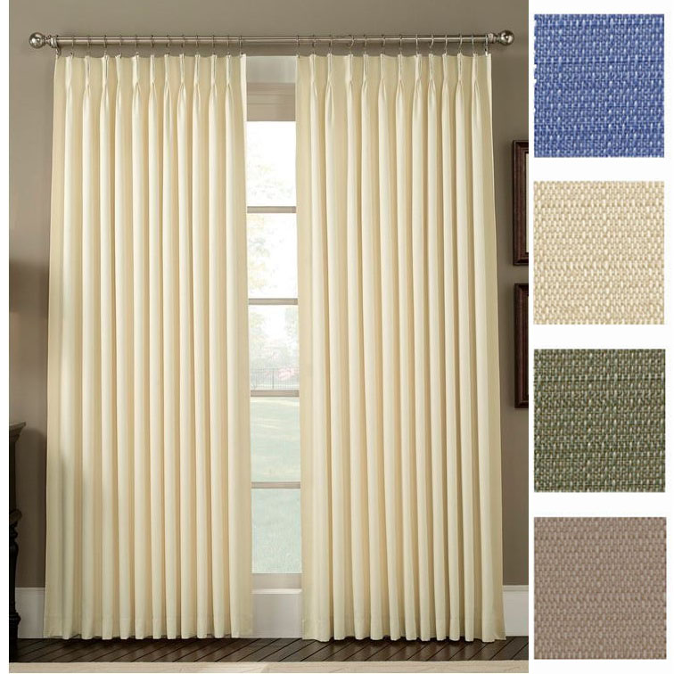 pinch pleat drapes crosby thermal insulated pinch pleat drapery | altmeyeru0027s bedbathhome PNARWCY