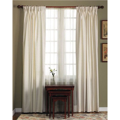 pinch pleat drapes fireside cotton duck pinch pleated insulated drapery pairs PCZWHXV