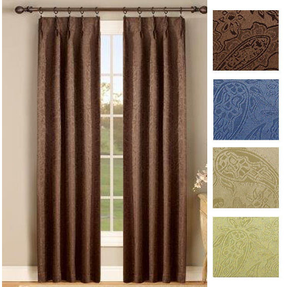 pinch pleat drapes gabrielle thermal insulated foam back pinch pleat pair QUCFJNM