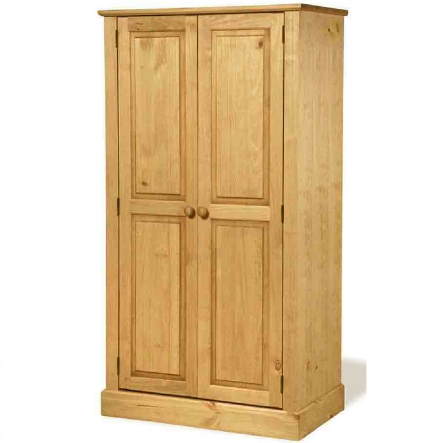 pine wardrobes cotswold waxed pine double wardrobe. loading zoom AMDKGRQ