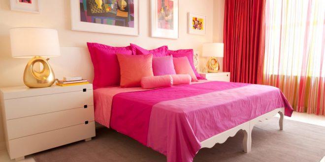 pink bedroom related to: bedroom colors pink ... LMSXSEV