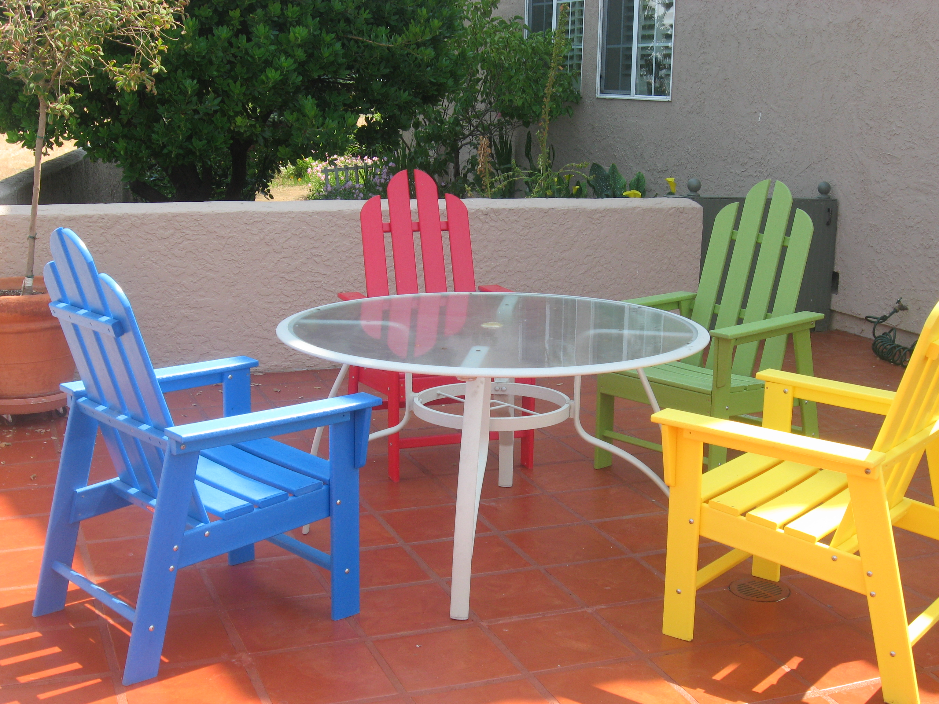 plastic garden furniture patio plastic furniture in TFTPWTK