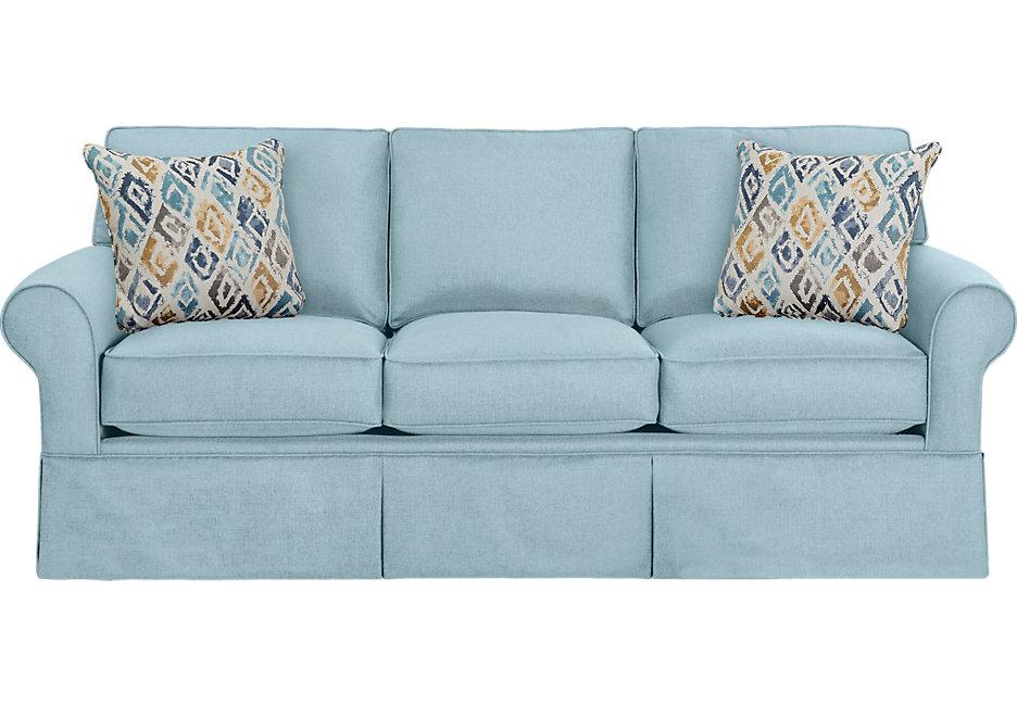 provincetown sky sleeper sofa - sleeper sofas (blue) HBMMEKC