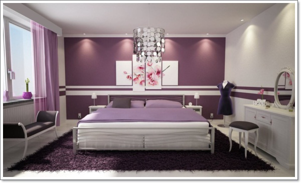 purple bedroom ... classic-remarkable-purple-bedroom-with-neutral ... XPRGVFA