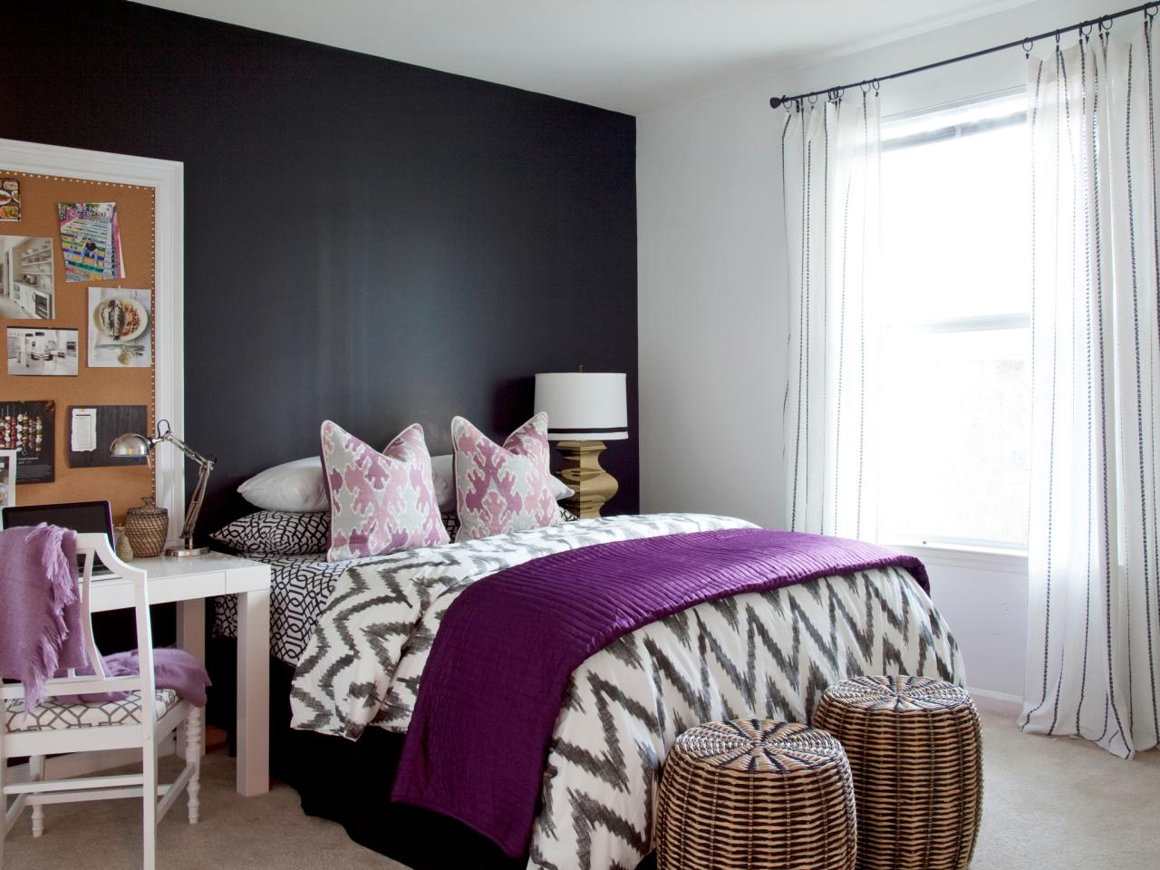 purple bedrooms amethyst color palette AIGSTHF