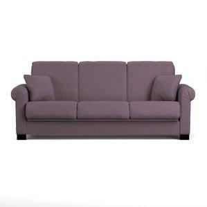 purple sofa lawrence full convertible sleeper sofa ZSOMKNC