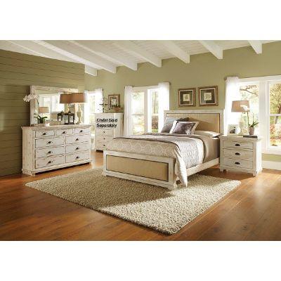 queen bedroom sets willow 6-piece queen bedroom set KVKNNWN