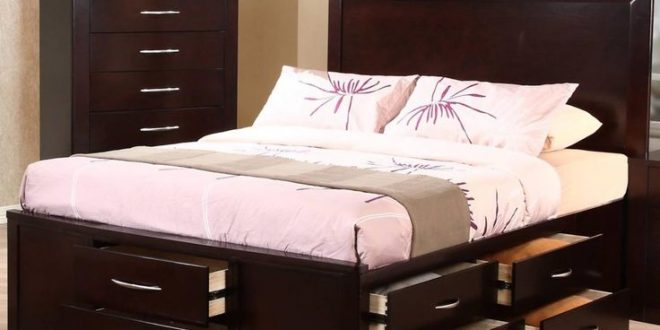 queen size bed tall queen bed frame with drawers | bed frames ideas | pinterest | PPOLEIZ