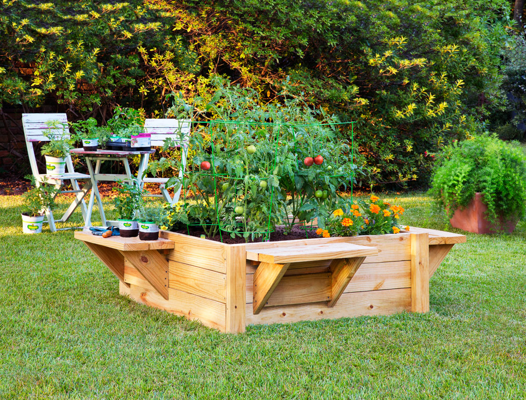 Get a raised bed garden for your garden
