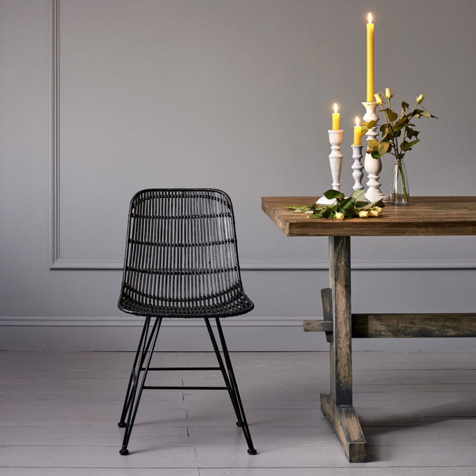 rattan dining chairs rattan dining chair in black OYRWGNP & Getting Some Rattan Dining Chairs - goodworksfurniture