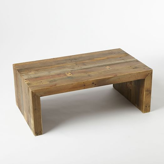 reclaimed wood coffee table detailed view; detailed view; detailed view ... UNAIENB