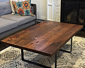 Reclaimed wood coffee table lets have a vintage era for Reclaimed wood portland or
