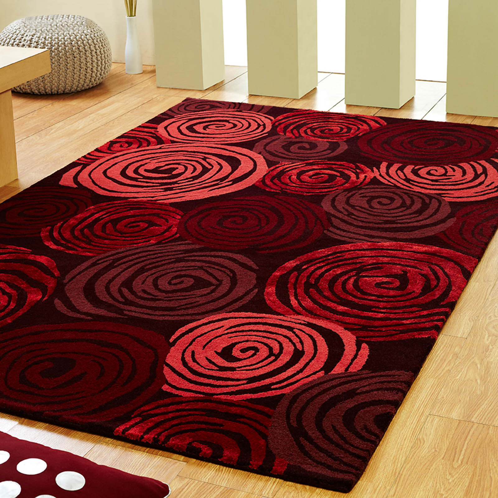 Vibrant Red Rugs For Your Place Goodworksfurniture
