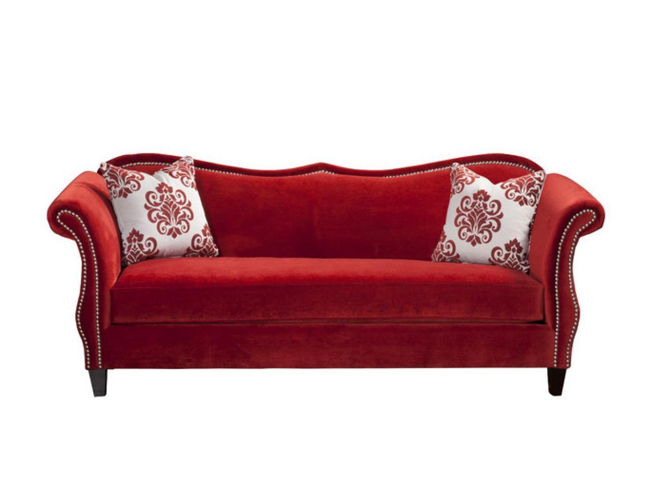 red velvet sofa OOVXARK