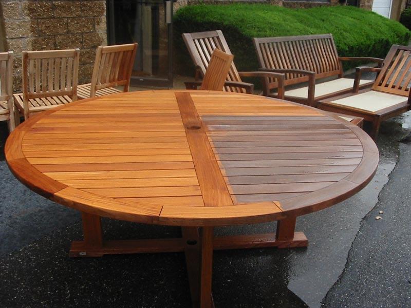 refinish teak furniture | outdoor furniture repair | teak restoration IWLAJYY