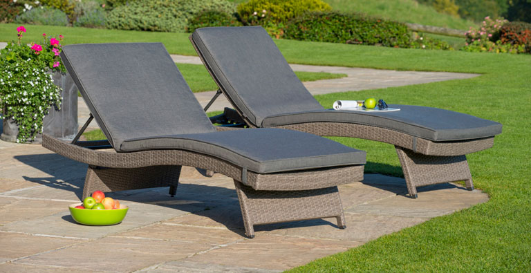 relaxing garden loungers goodworksfurniture kcgejan - Garden Furniture Loungers