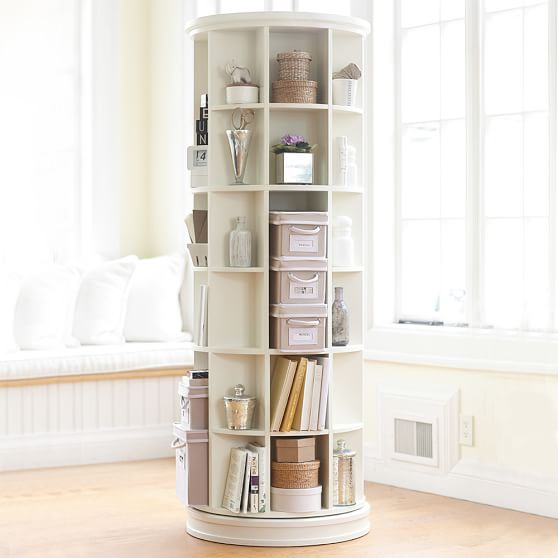 revolving bookcase scroll to previous item DTEEGLX