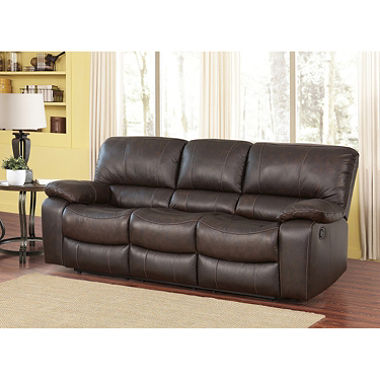 riley top-grain leather reclining sofa VYFNUWG