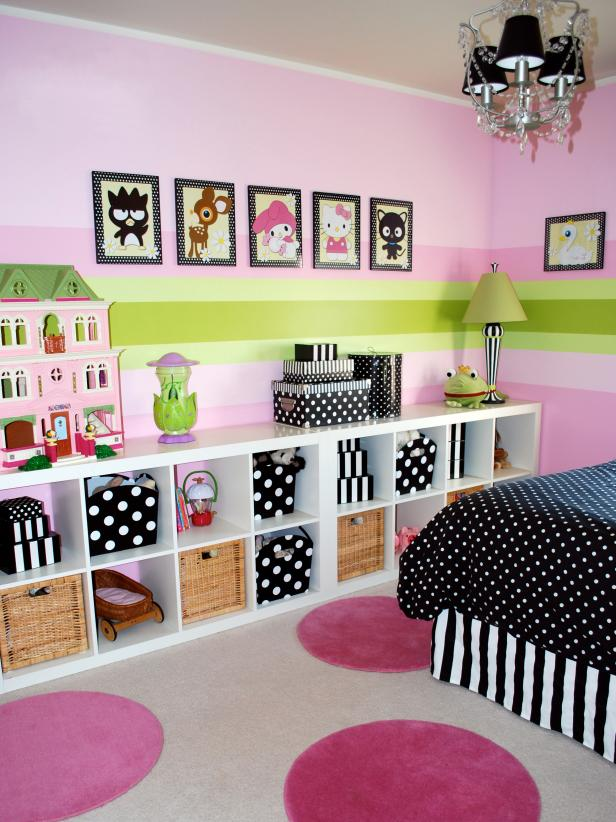 room decorating ideas girlsu0027 bedroom with modular storage bookcase HJTGGUS