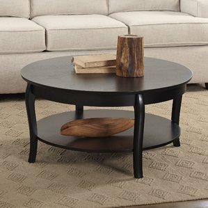 round coffee table round coffee tables youu0027ll love | wayfair UDVLQZQ