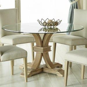 round glass dining table parfondeval 54 SKROKYI