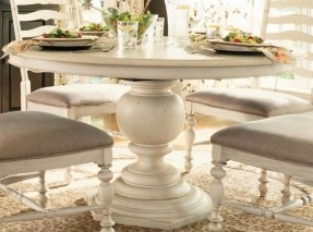 round pedestal dining table linen* YQZHPIG