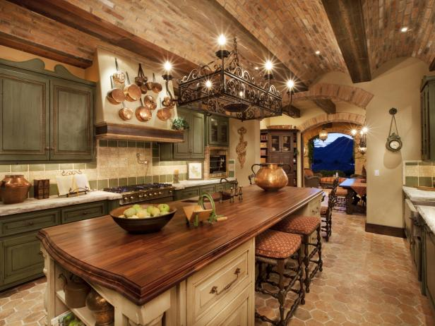 rustic kitchen italian style kitchen JJYRGEI