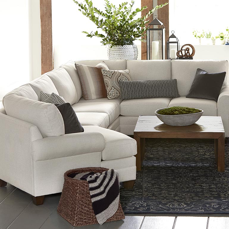 sectional furniture hgtv® home cu.2 cuddler l-shaped sectional HPLEBTQ