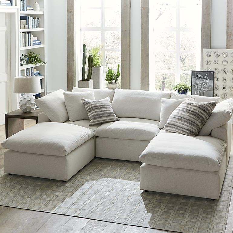 sectional sofas envelop small double chaise sectional CKJTGTY