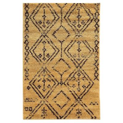 shaggy rug moroccan shag rug - fes JVLHEXN