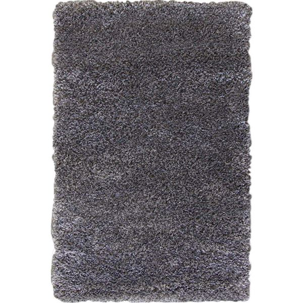 shaggy rug picture of shag rug dark gray and charcoal UTDTZEU