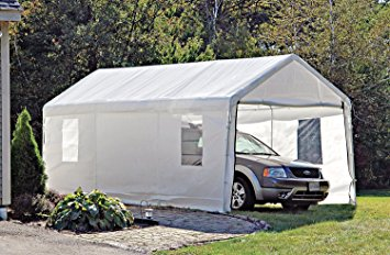 shelterlogic portable garage canopy carport 10u0027 x ... FXYBFBK