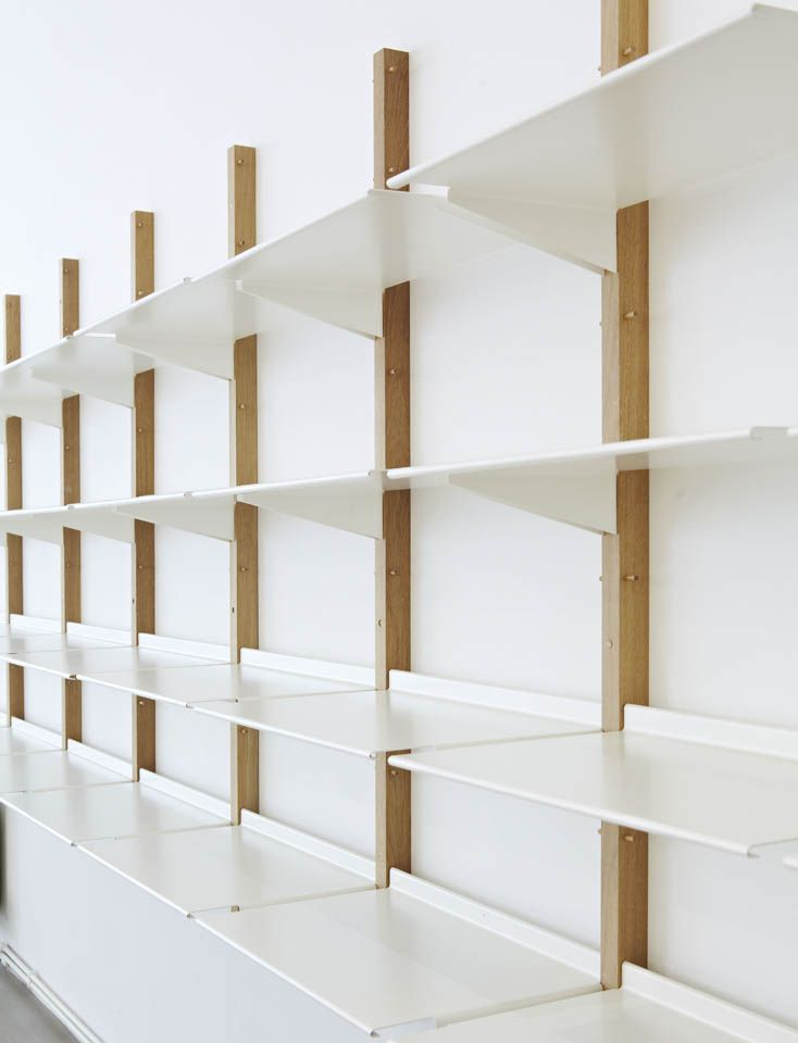 shelving ideas floor designs ideas: revolver i love the simplicity of revolver - a display BOFXJPQ