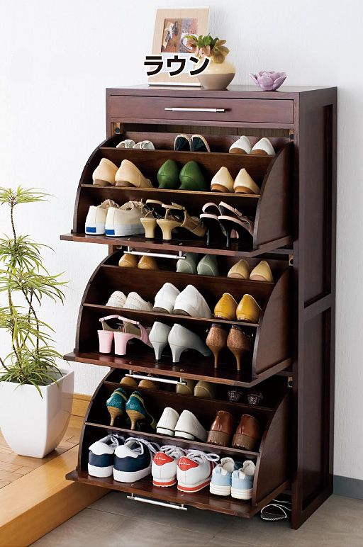 shoe racks solid wood rotating shoe rack tipping shoe shoe shoe storage cabinet hall AUYWDLA