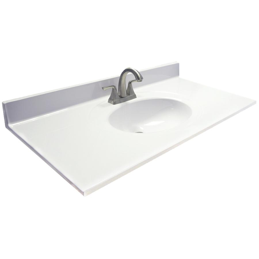 shop bathroom vanity tops at lowes.com VEBZFQC