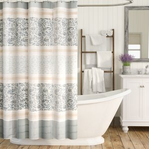 shower curtains chambery cotton shower curtain LCVHHKZ