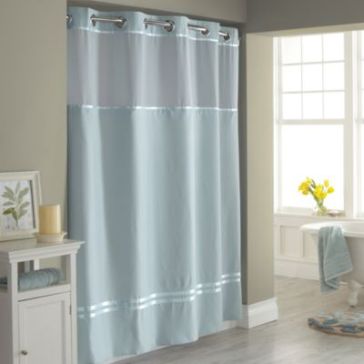shower curtains image of hookless® escape fabric shower curtain and shower curtain liner set OJSNYLY