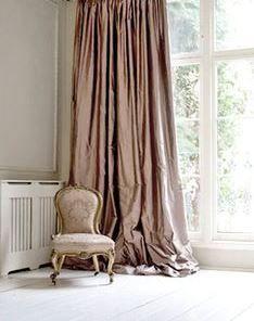 silk curtains blush pink silk curtain shantung silk by zylstraartanddesign AJFWRET