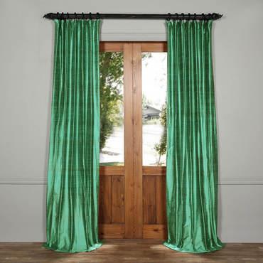 silk curtains splashy turquoise textured dupioni silk curtain BMDWEIT